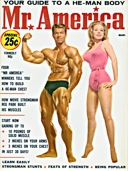 VINTAGE MUSCLE COVERS FROM THE GOLDEN AGE OF BODYBUIDING Arnold