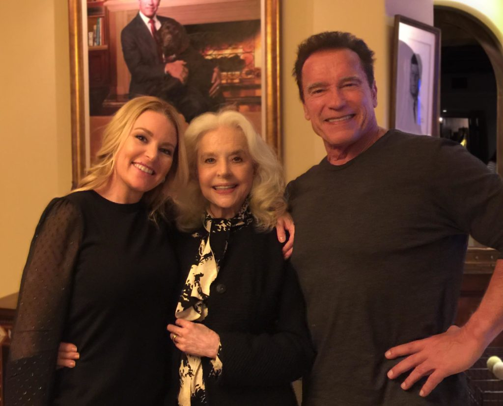 Heather milligan is Arnold Schwarzenegger