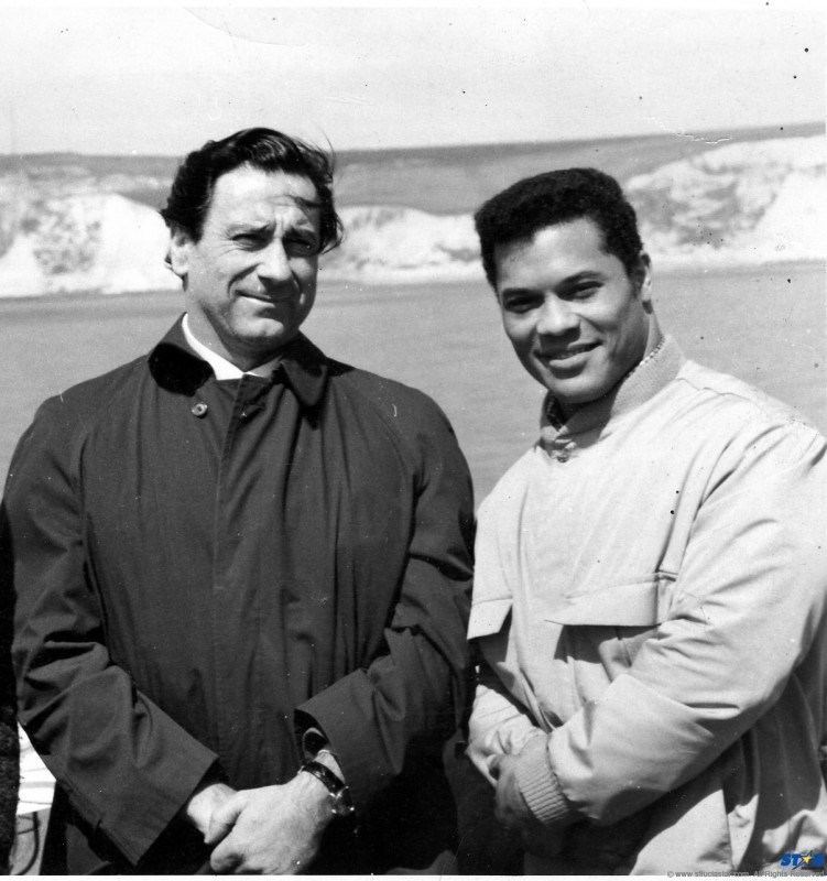Rick Wayne and Joe Weider